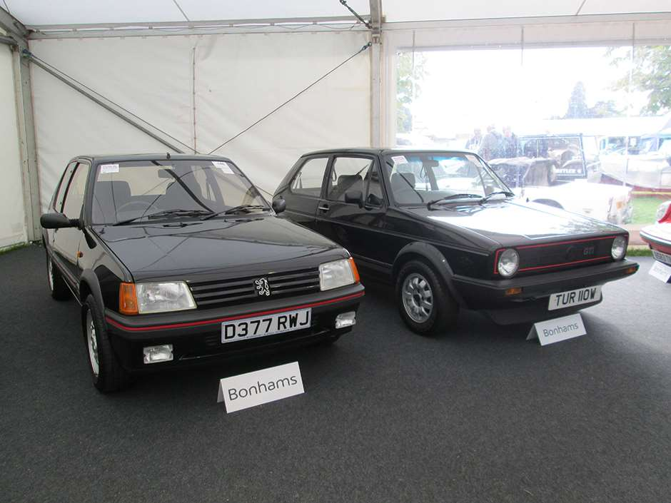 Bonhams Beaulieu Peugeot 205 Golf Volkswagen Golf GTi Bonhams Beaulieu