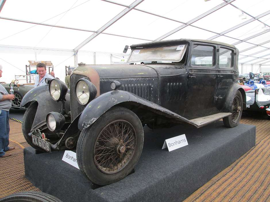 Bentley Bonhams Beaulieu
