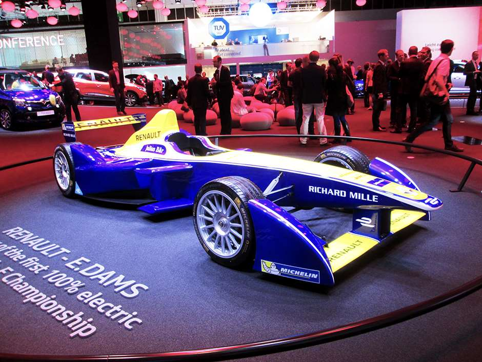 Frankfurt competition cars Formula E