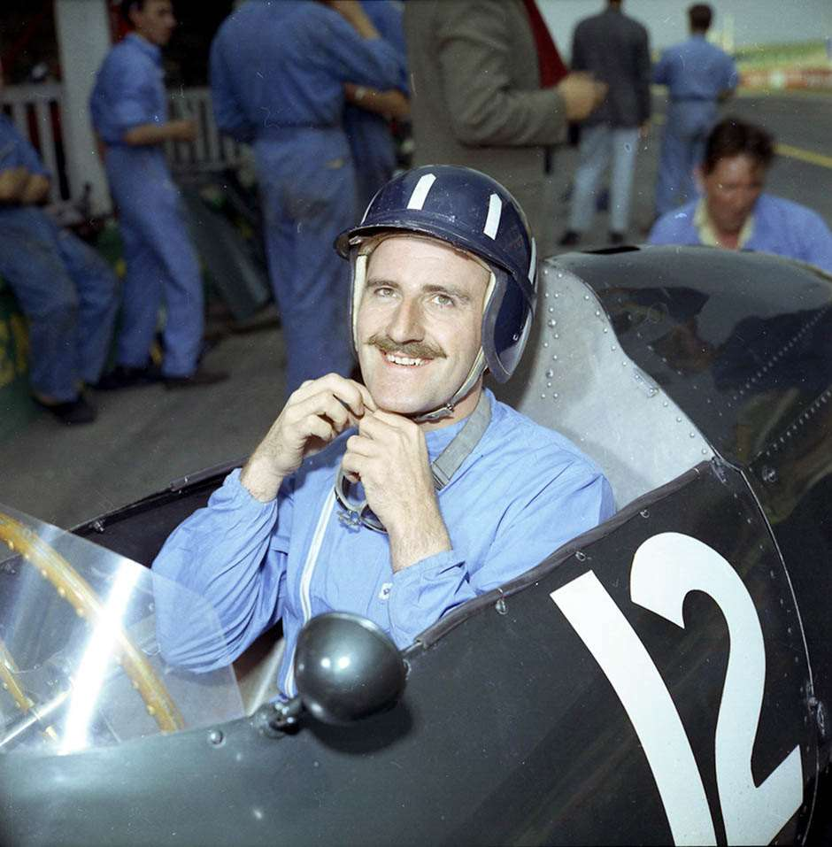 Graham Hill BRM Goodwood