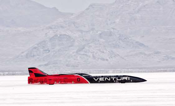 Venturi Land Speed Record car