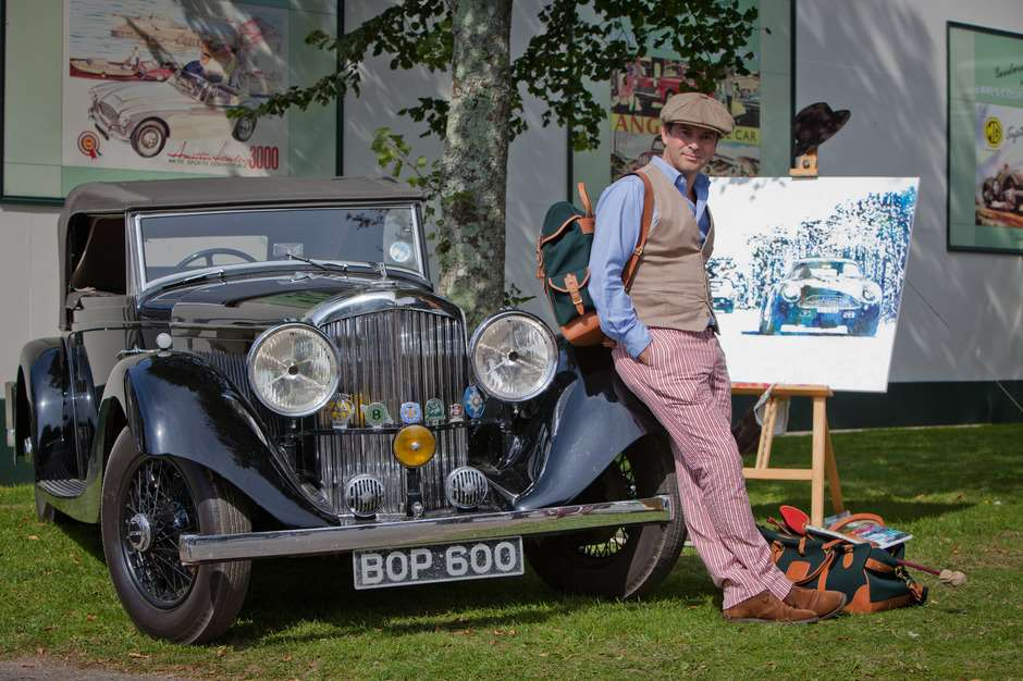 Jeremy Houghton Goodwood Artist in Residence