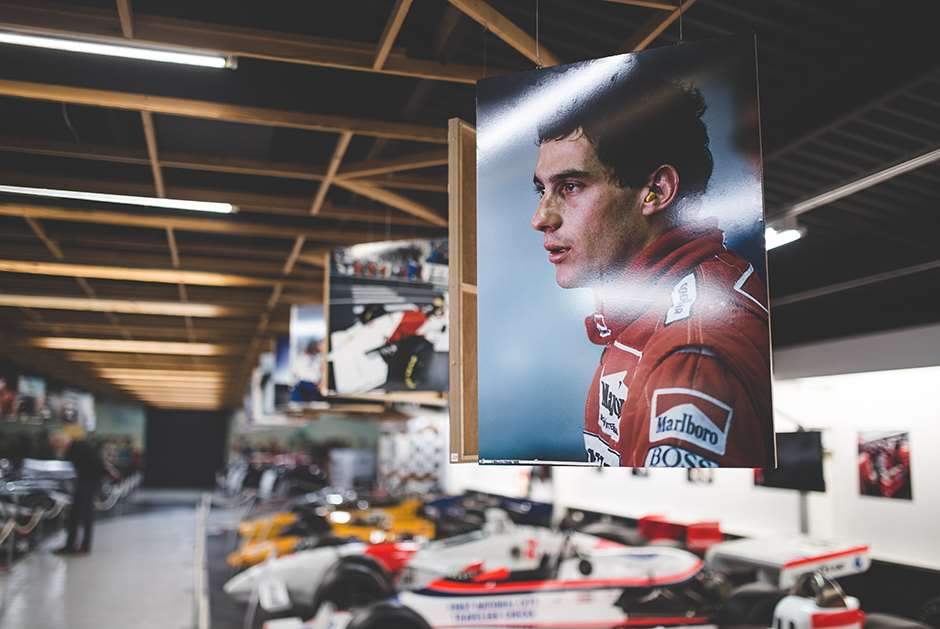 Donington Park Grand Prix Collection Senna