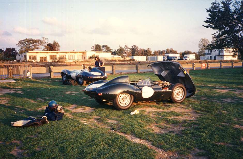 Goodwood 1990s Jaguar D-Type