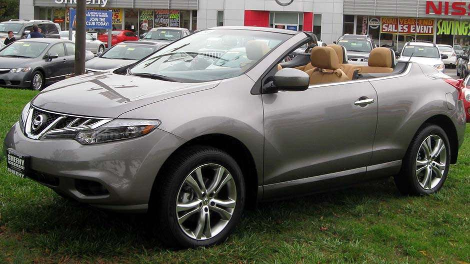 Nissan Murano CrossCabriolet convertible