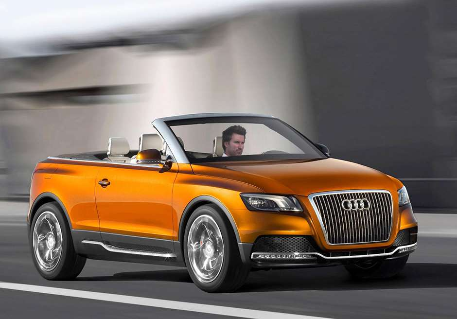 Audi Cross Cabriolet convertible