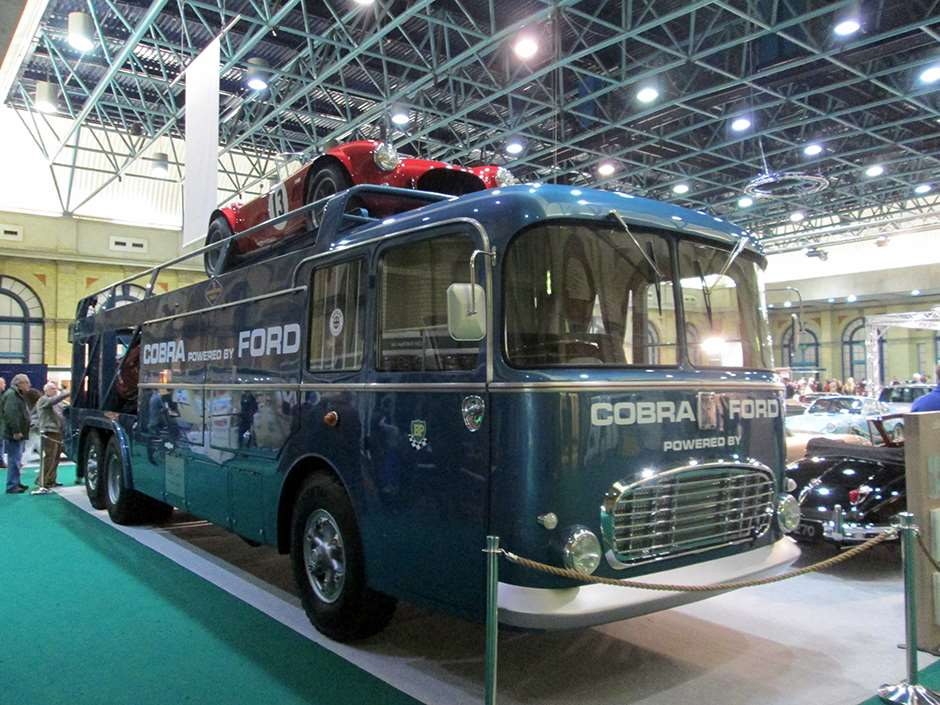 Classic and Sports Car The London Show Scarab Transporter