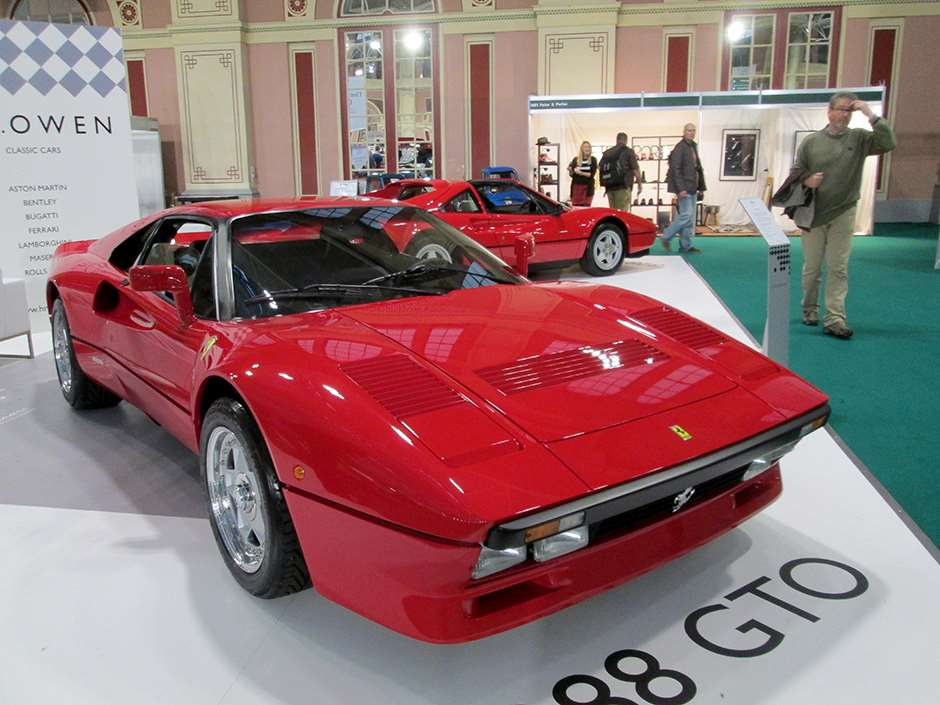 Classic and Sports Car The London Show Ferrari 288 GTO