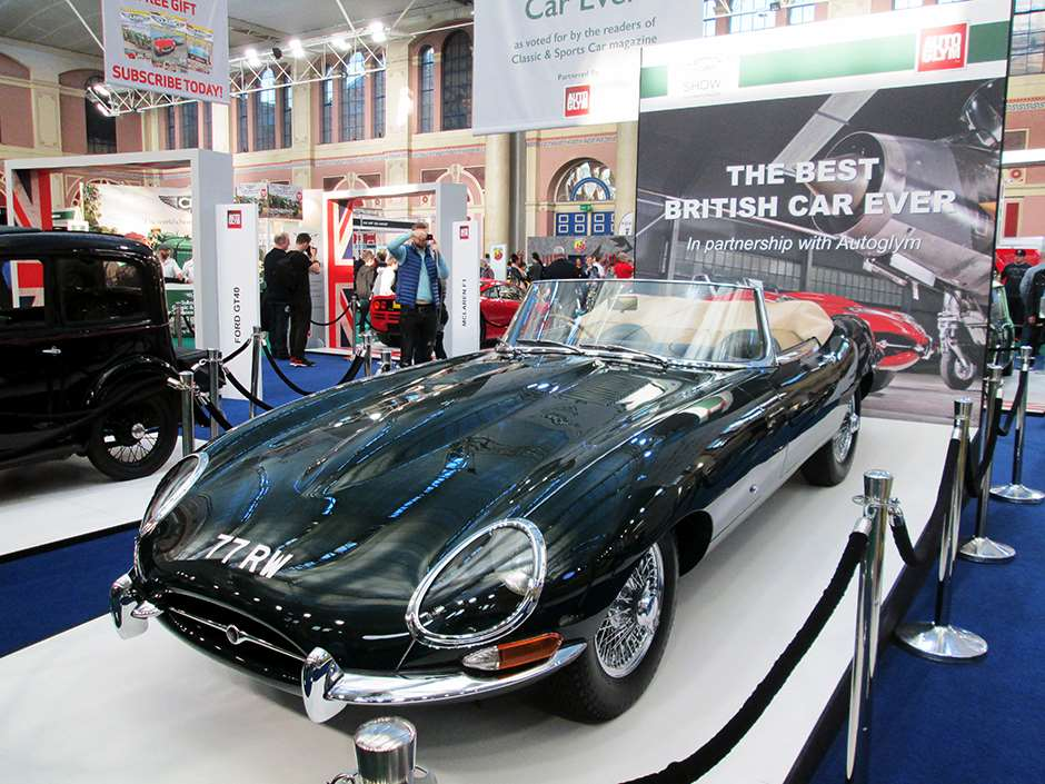 Classic and Sports Car The London Show Jaguar E-Type