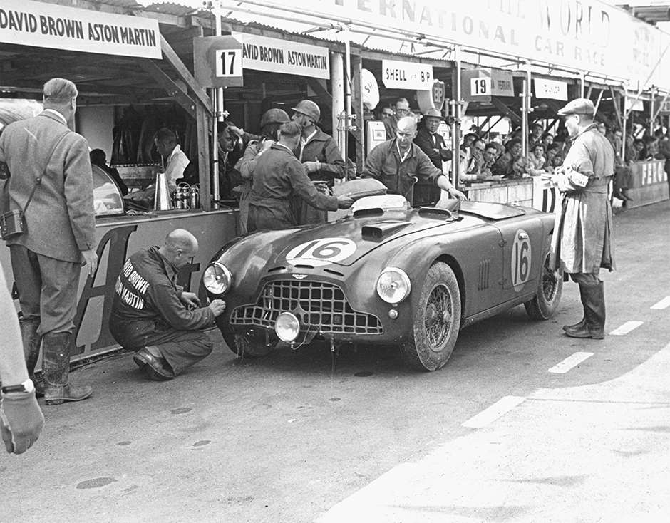 Abecassis/Poore works Aston Martin DB3 - 1952 Goodwood 9-Hours