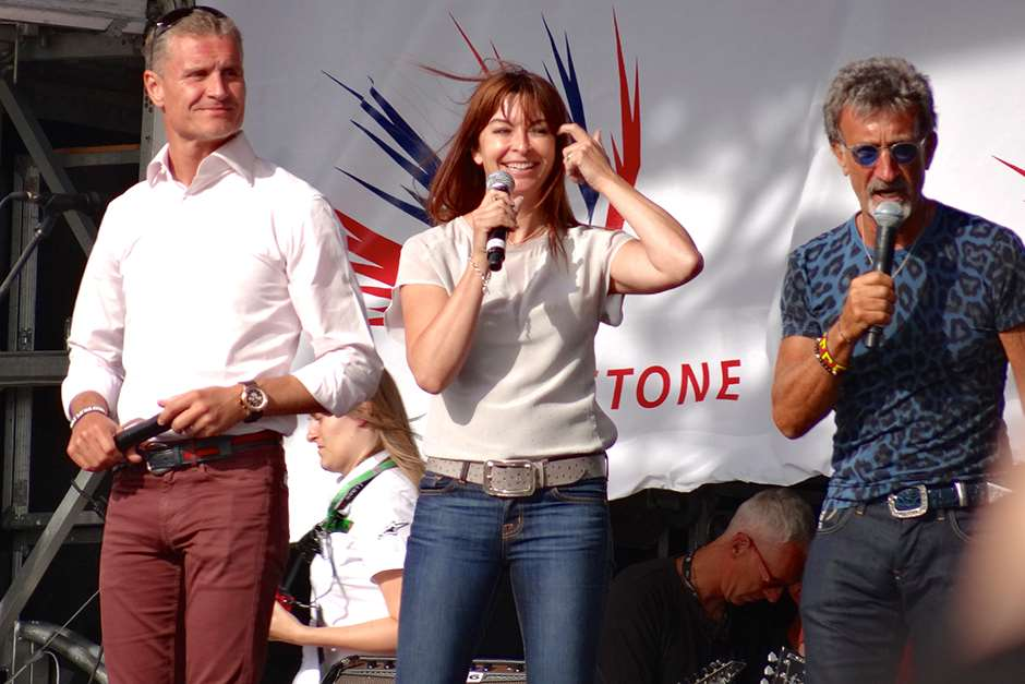 BBC F1 Suzi Perry David Coulthard Eddie Jordan