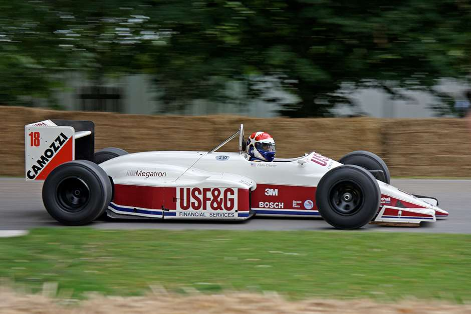 Eddie Cheever Arrows megatron FoS