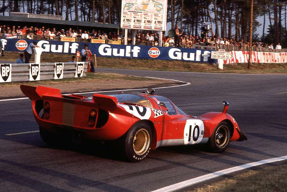 Ferrari 512S at Le Mans 1970