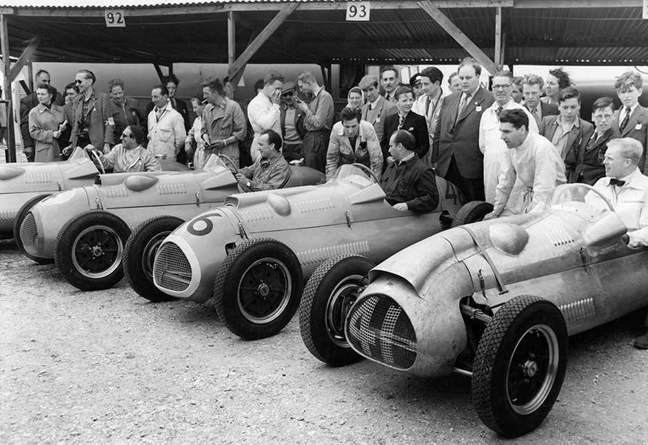 1952 Easter Goodwood - Brand new Cooper-Bristols - Alan Brown, Eric Brandon, Juan Manuel Fangio...Mike Hawthorn GPL