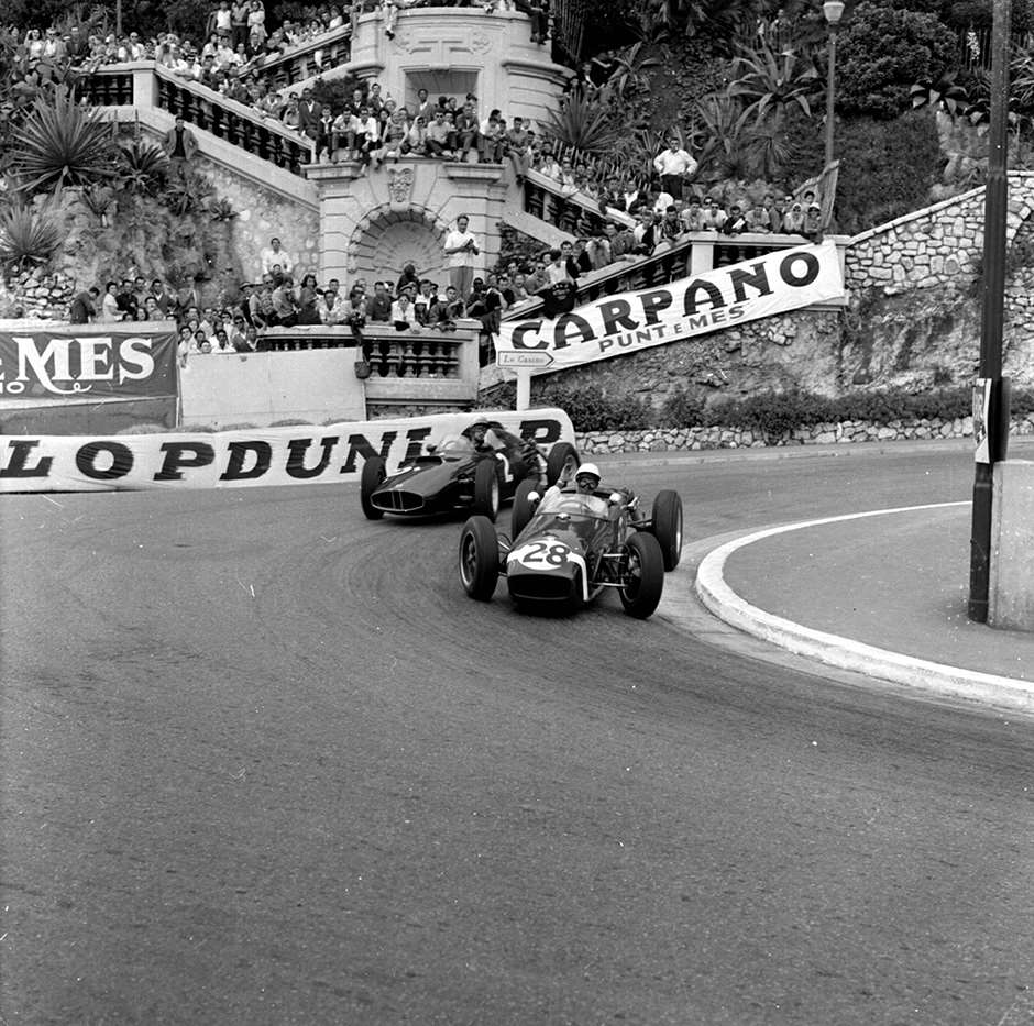 1960 Monaco Grand Prix. Ref-6423. World © LAT Photographic