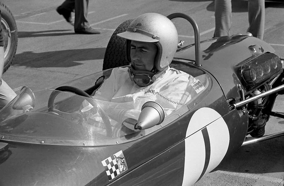 Relaxed self-confidence - Jack dominated Formula 2 1966 in his works Brabham-Honda