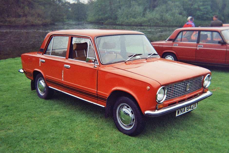 """Lada 1200"" by Asterion talk to me - Own work. Licensed under CC BY 2.5 via Commons - https://commons.wikimedia.org/wiki/File:Lada_1200.jpg#/media/File:Lada_1200.jpg"