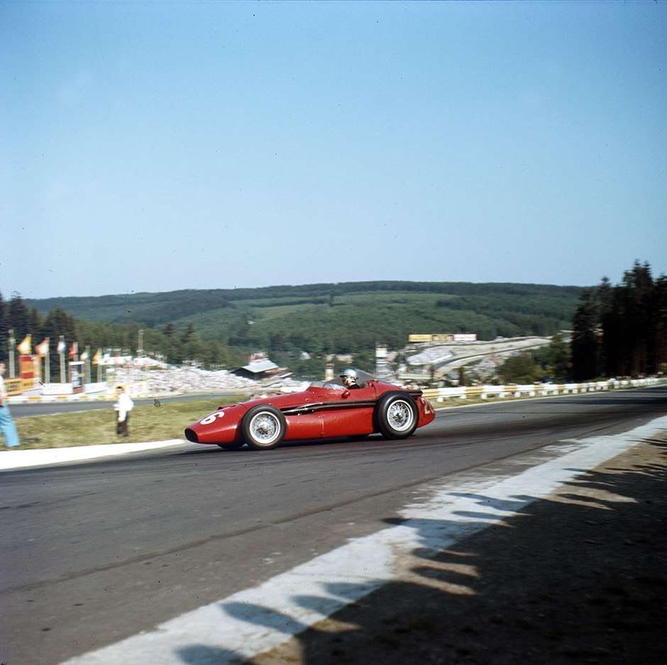 Spa-Francorchamps, Belgium. 13-15 June 1958. Maria-Teresa de Filippis (Maserati 250F). Ref-3/0045. World Copyright - LAT Photographic