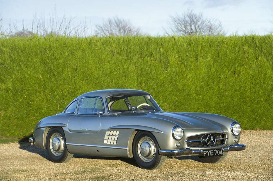 Bonhams 74MM sale Mercedes-Benz 300 SL