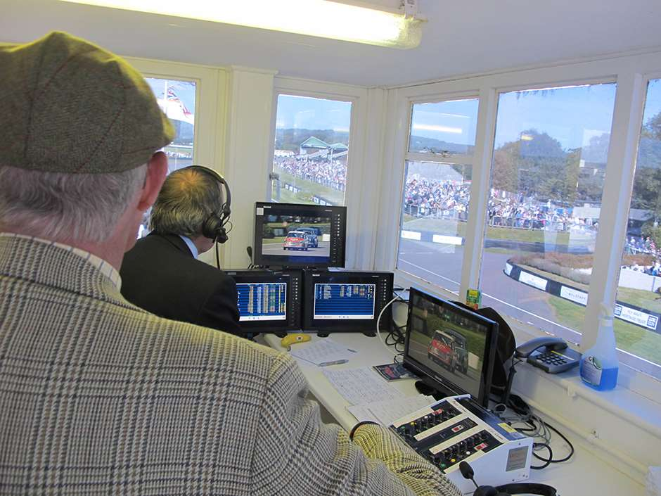Goodwood Commentary Box