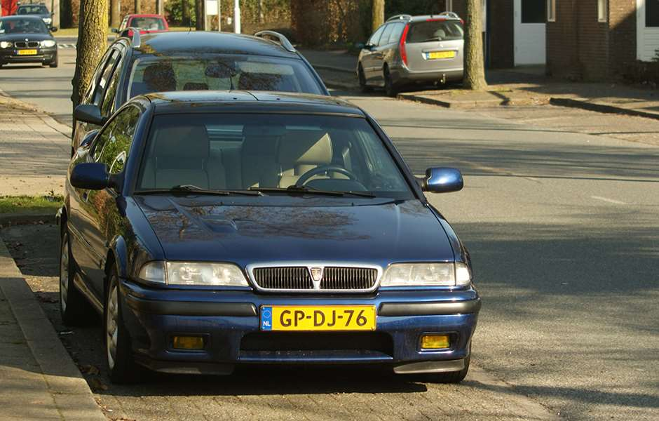 """1993 Rover 220 Coupé Turbo (8794135655)"" by Niels de Wit from Lunteren, The Netherlands - 1993 Rover 220 Coupé Turbo. Licensed under CC BY 2.0 via Wikimedia Commons - https://commons.wikimedia.org/wiki/File:1993_Rover_220_Coup%C3%A9_Turbo_(8794135655).jpg#/media/File:1993_Rover_220_Coup%C3%A9_Turbo_(8794135655).jpg"