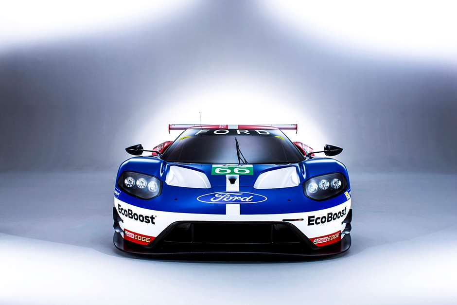Ford GT GTE 2016 World Endurance Championship. Banbury, England Ford GT Launch. 5th January 2016. Photo: Drew Gibson.