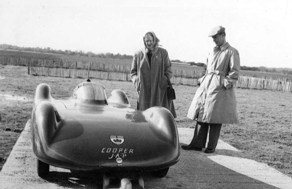 GPL ROBIN READ 1950-51 GOODWOOD COOPER 500 STREAMLINER