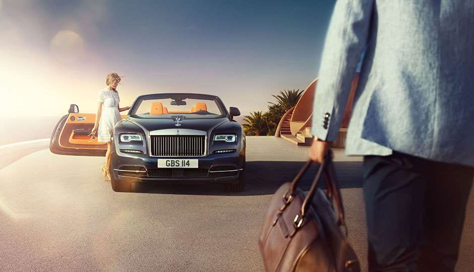 Rolls Royce Dawn british