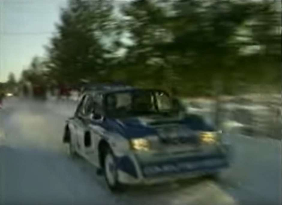 Group B MG Metro Sweden