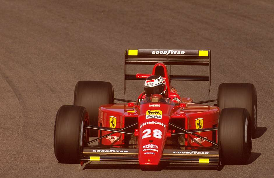 Estoril, Portugal. 22-24 September 1989. Gerhard Berger (Ferrari 640) 1st position. Ref-89 POR 10. World Copyright - LAT Photographic