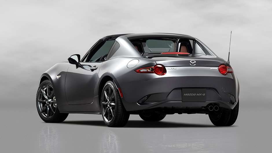 New York 2016: Mazda Unveils Its Targa MX-5